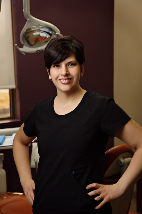 Angela   cornwall dental assistant